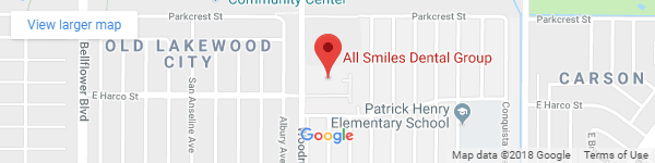 All Smiles Dental Group location map